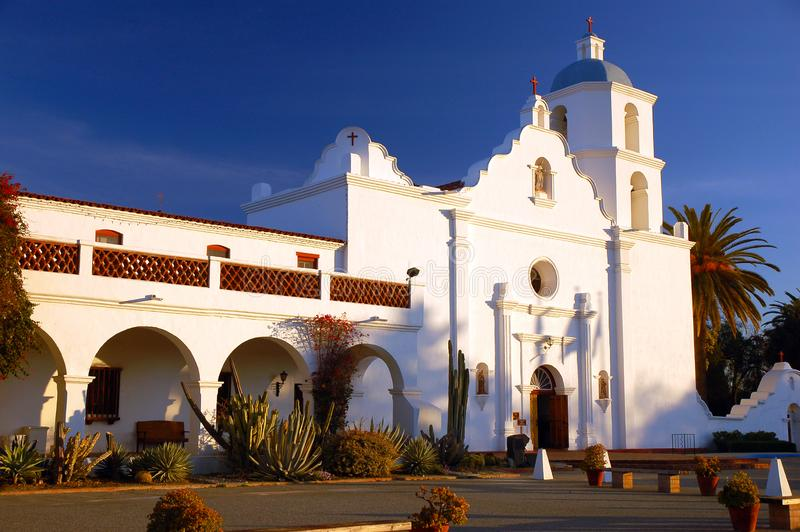 Het San Luis Rey van de opdracht royalty-vrije stock foto's
