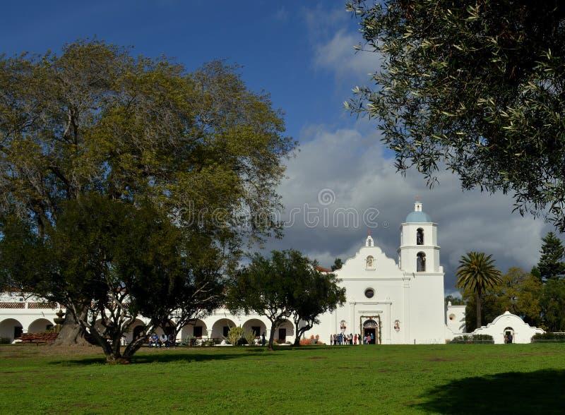 Het San Luis Rey van de opdracht royalty-vrije stock fotografie