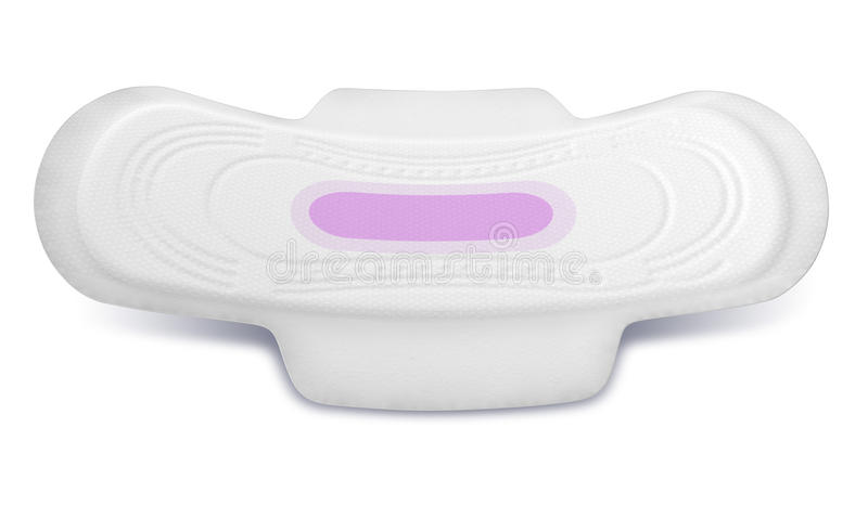 Het sanitaire Perspectief van het Stootkussen vector illustratie