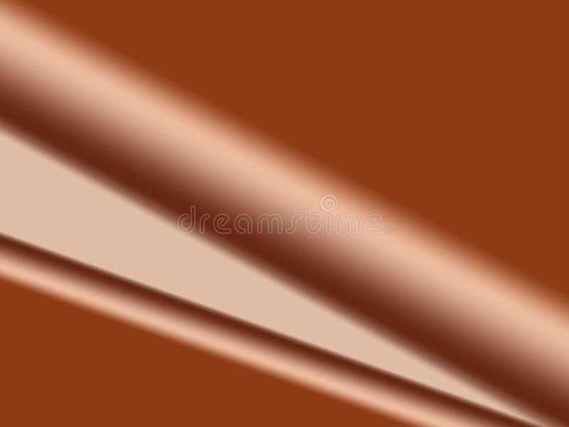 Het Satijn Van De Chocolade Royalty-vrije Stock Afbeelding