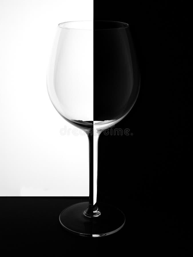Het schaak van het achtergrond wijnglas zwarte witte abstracte illustratiegradiënt stock foto's
