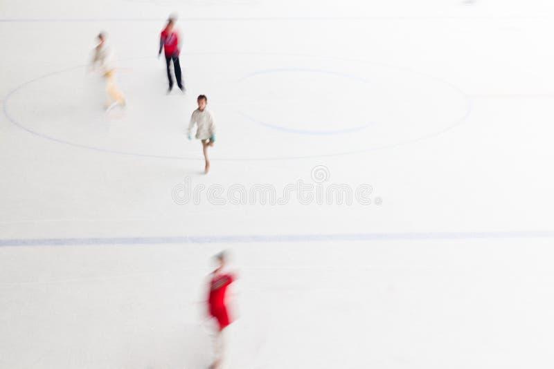 Het schaatsen stock afbeelding