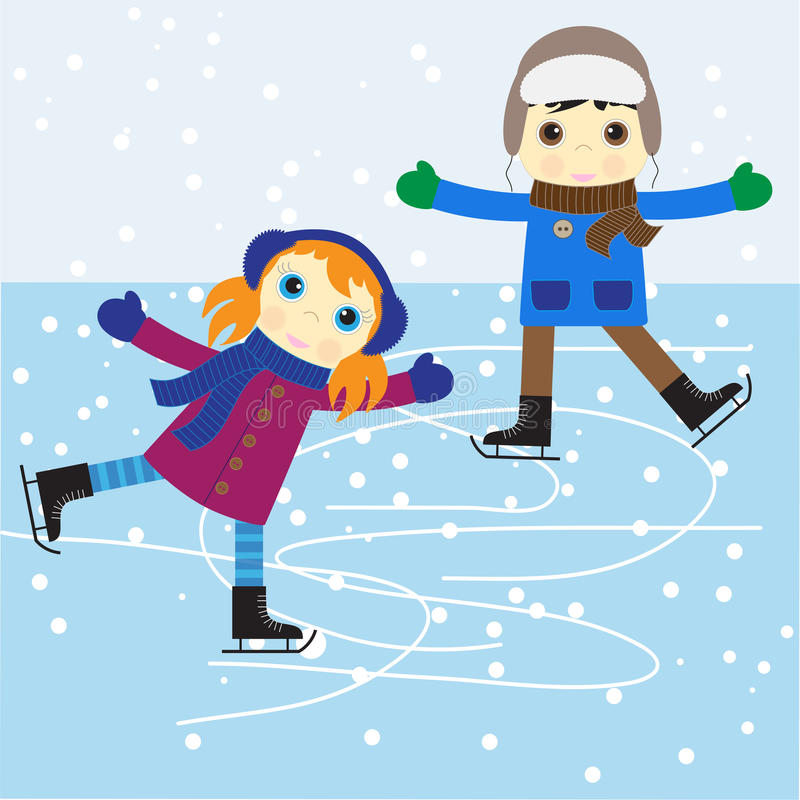 Afbeeldingsresultaat voor schaatsen tekening