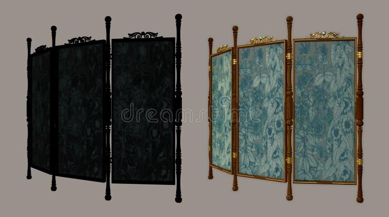 Het scherm royalty-vrije illustratie