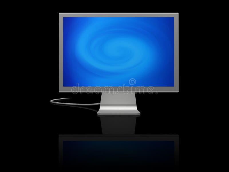 Het scherm van de computer stock fotografie