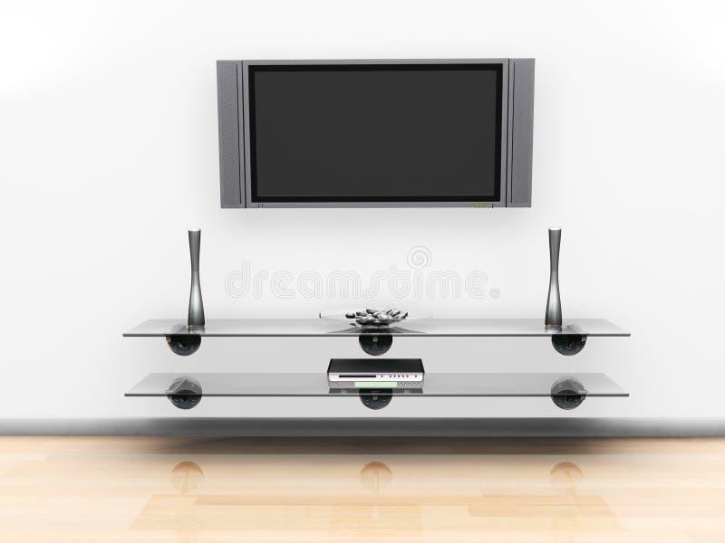 Het scherm van de televisie
