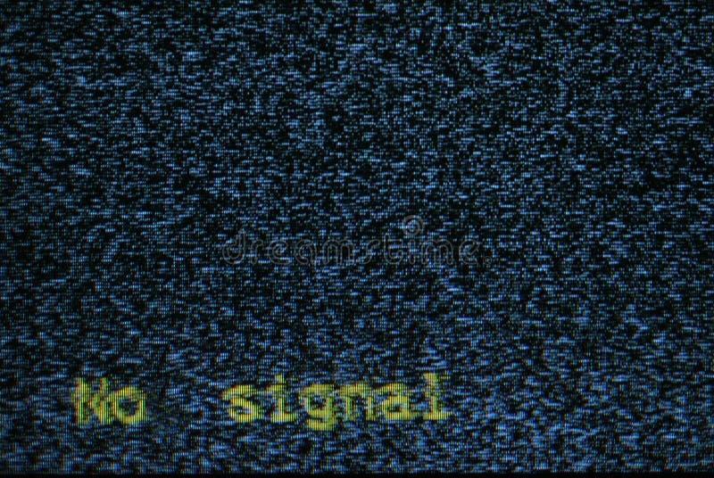 Het scherm van TV