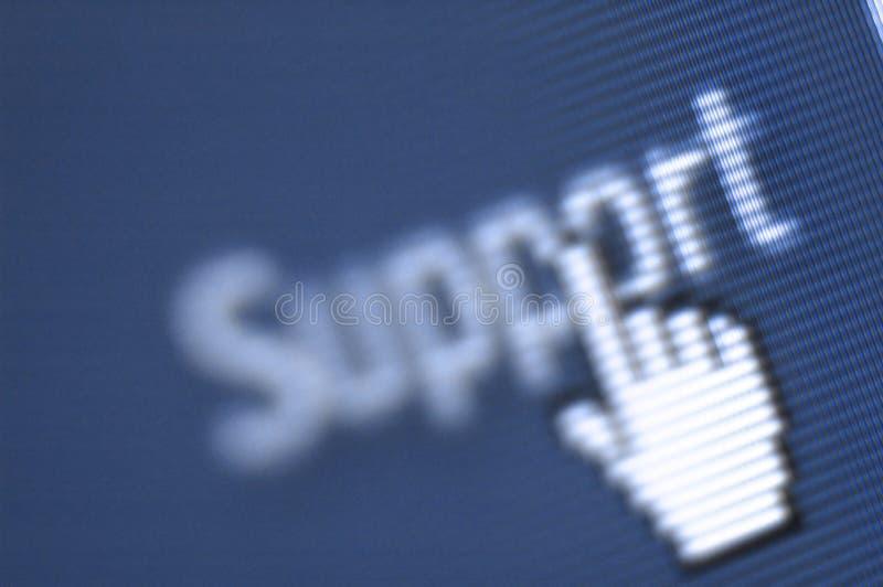 Het schermschot van de steun stock foto's