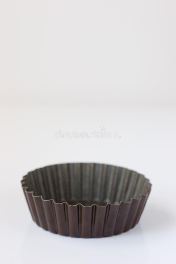 Het Scherpe Tin van de pastei stock afbeelding