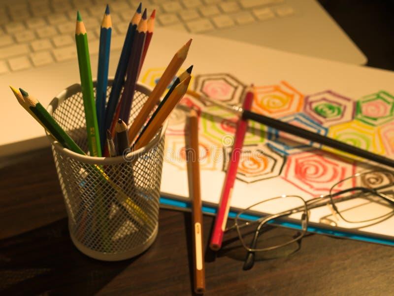 Het schetsen van een Idee royalty-vrije stock afbeelding