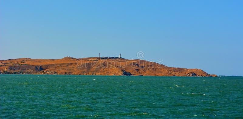 Het schiereiland van de Krim stock afbeelding