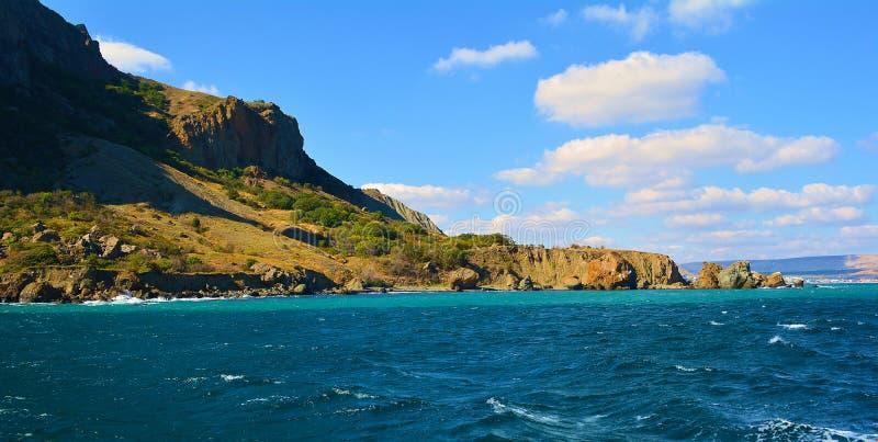Het schiereiland van de Krim stock foto's
