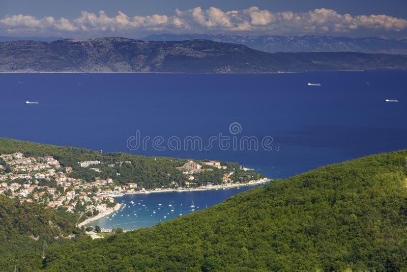 Het schiereiland van Istria stock afbeelding