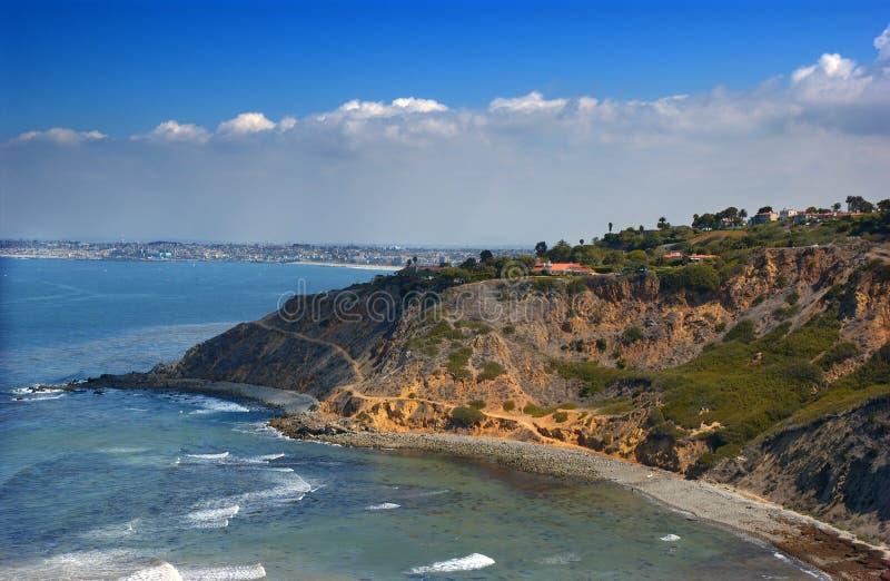 Het schiereiland van Palos verdes royalty-vrije stock afbeeldingen