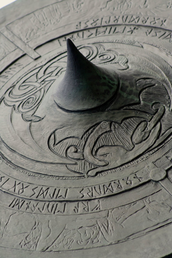 Het Schild van Viking stock foto