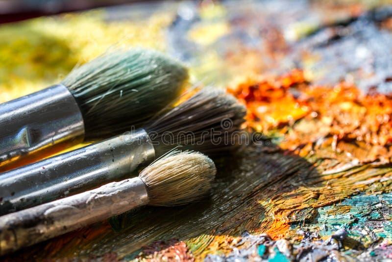 Het schilderen met Licht stock afbeeldingen