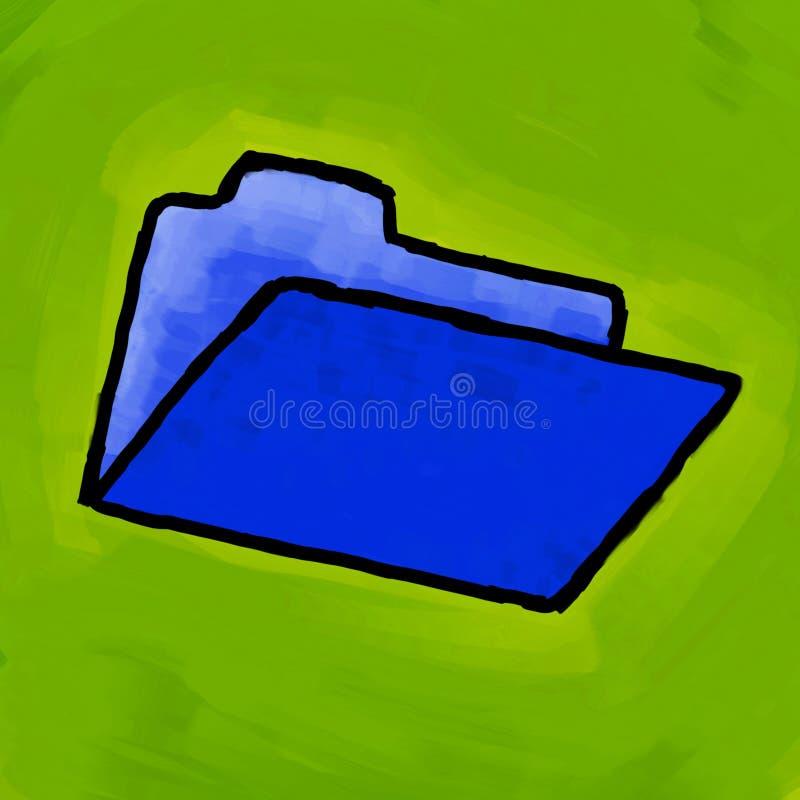 Het schilderen van de omslag stock illustratie