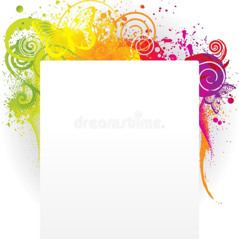 Download Het Schilderen Van Vlinders Stock Illustratie - Illustratie bestaande uit licht, out: 29507386
