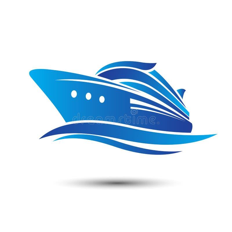 Het schip Costa Luminosa van de cruise stock illustratie