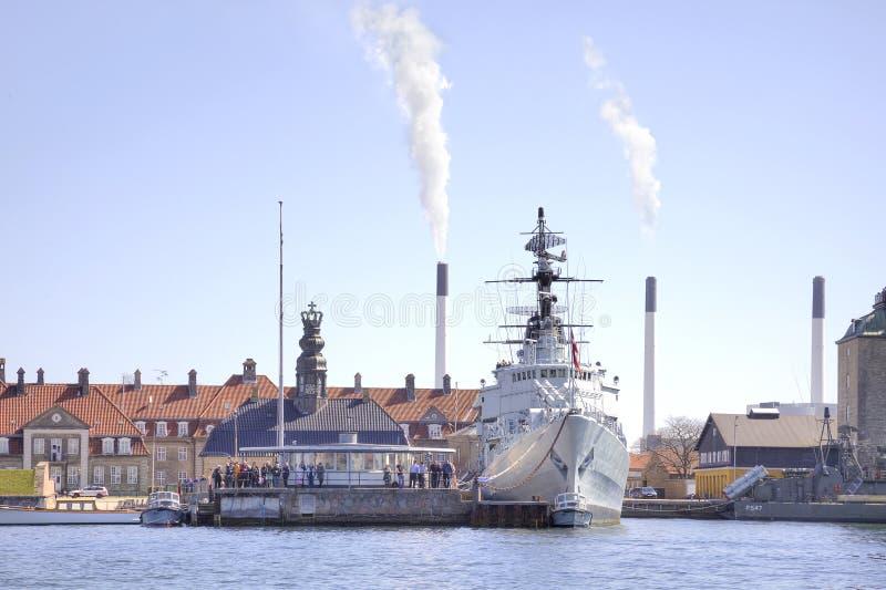 Het schip is een museum royalty-vrije stock foto