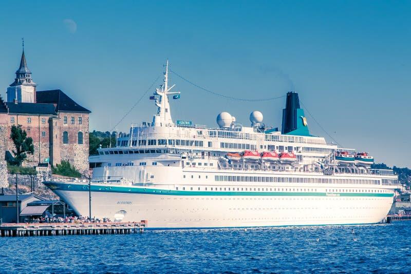Het schip van de Albatroscruise stock foto's