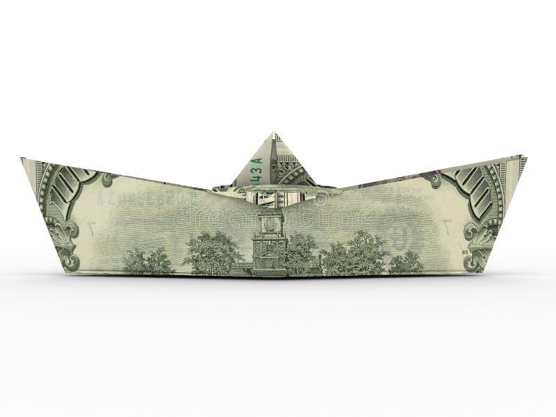Het schip van de dollar royalty-vrije stock foto