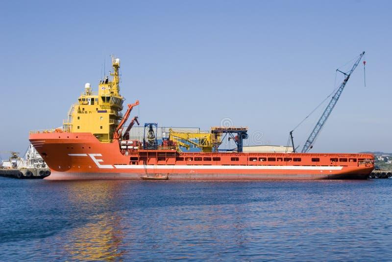 Het schip van de levering royalty-vrije stock fotografie
