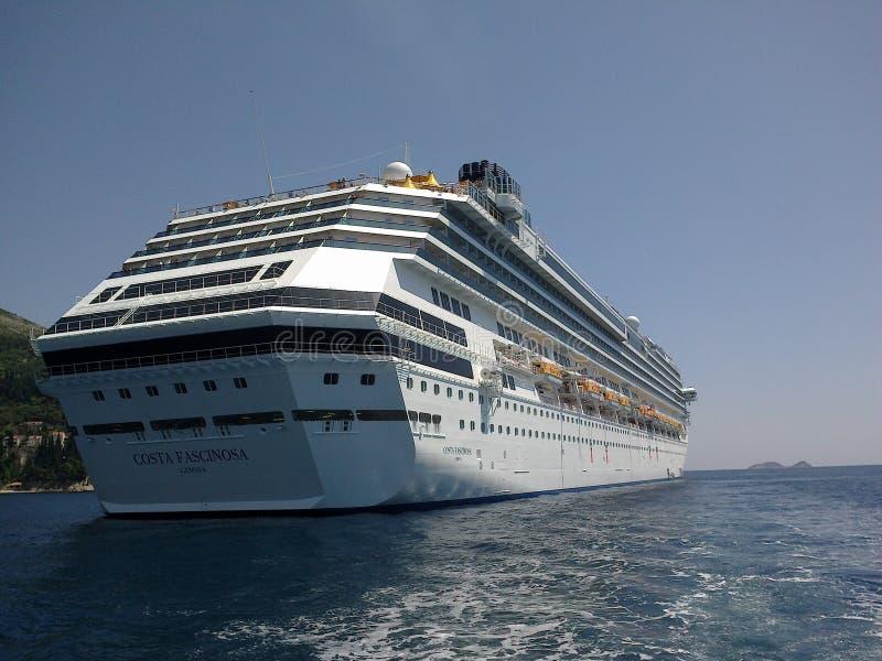 Het schip van de luxecruise royalty-vrije stock foto's