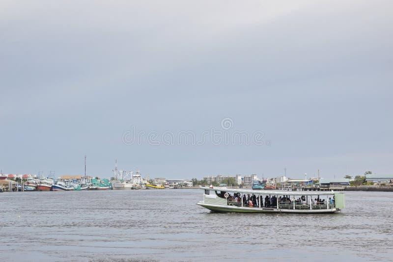 Het schip van de passagier stock foto