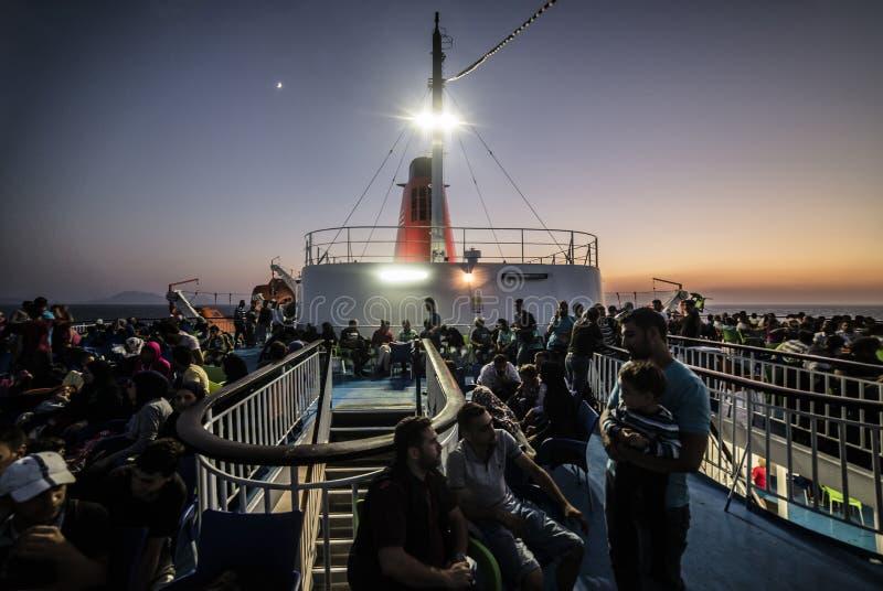 Het schip van dromen stock afbeelding