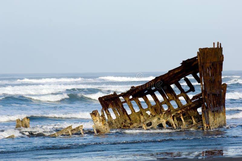 Het schip van het spook stock fotografie