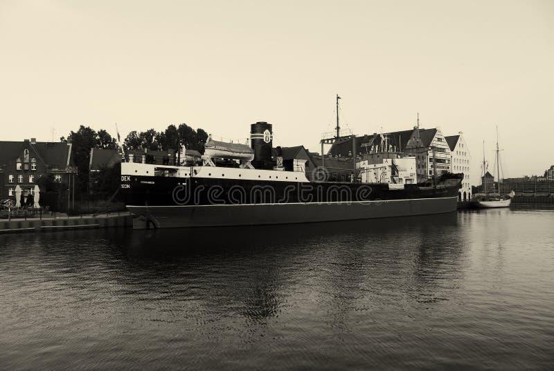 Het schip van Polen Gdansk royalty-vrije stock afbeeldingen