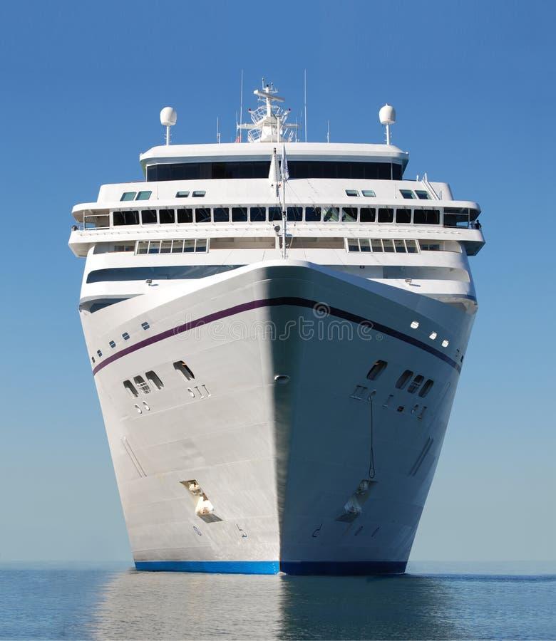 Het schipboog van de cruise royalty-vrije stock afbeeldingen