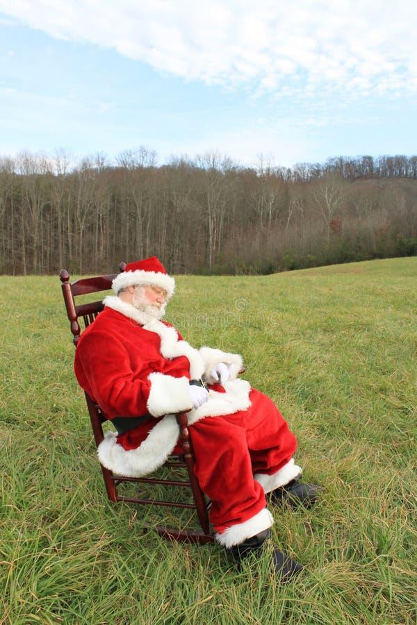 Het schommelen de Kerstman van de Slaap stock fotografie