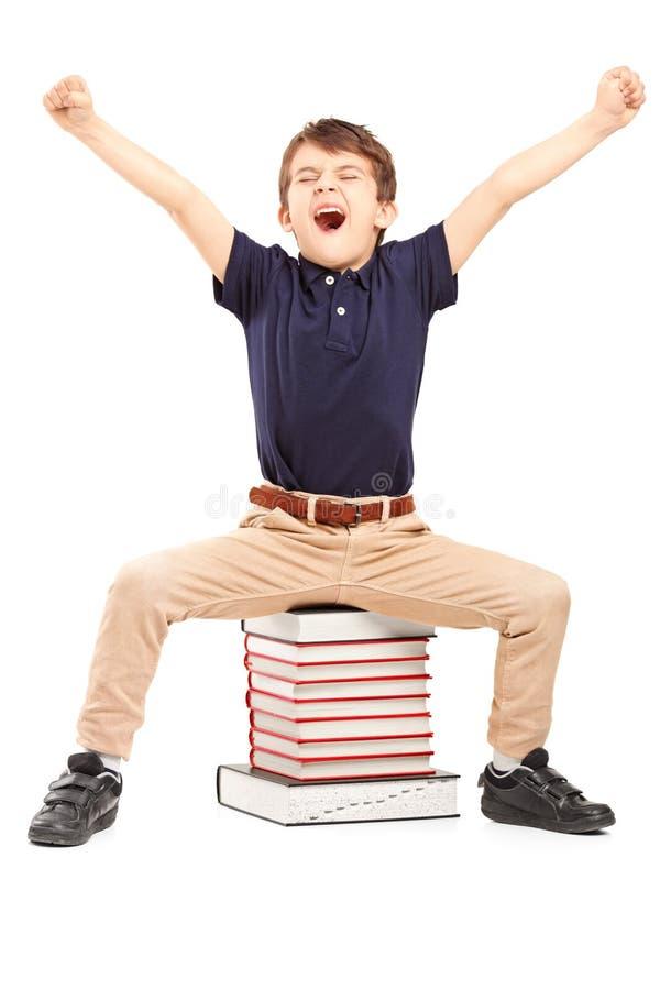 Het schooljaar is over stock afbeeldingen