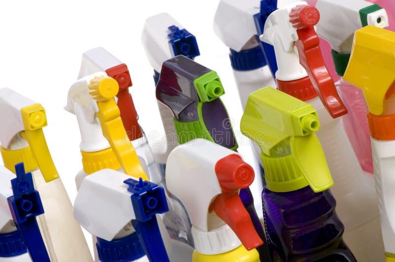 Het schoonmaken levert 007 stock afbeeldingen