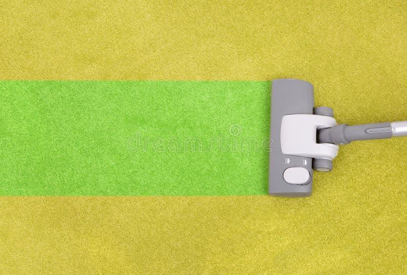 Het schoonmaken van het tapijt stock afbeeldingen