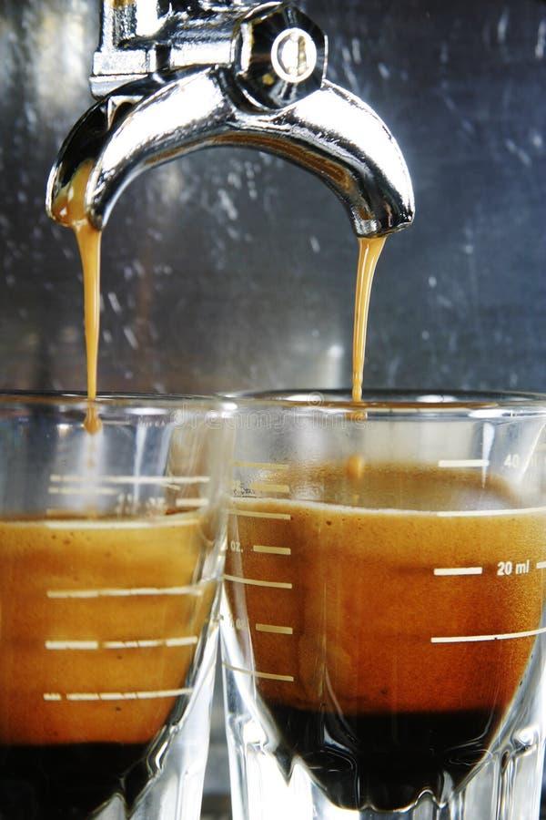 Het Schot van de espresso stock afbeelding