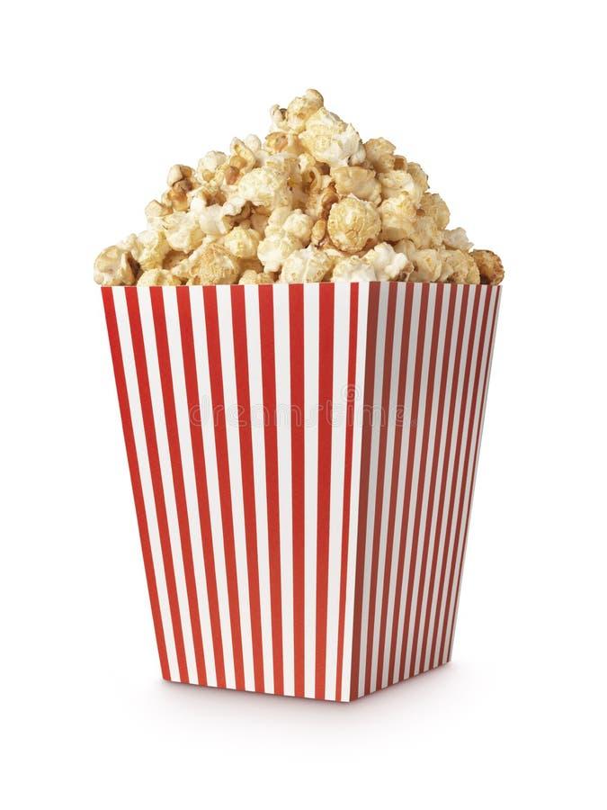 Het schot van de filmpopcorn verticle stock foto