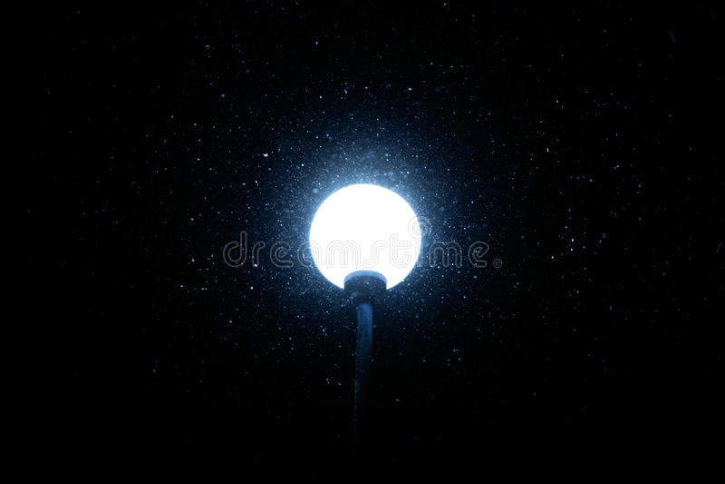 Het schot van de nacht stock fotografie