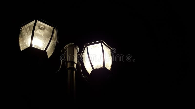 Het schot van de nacht stock foto
