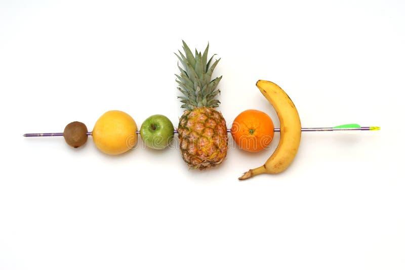 Het schot van vitaminen royalty-vrije stock afbeelding