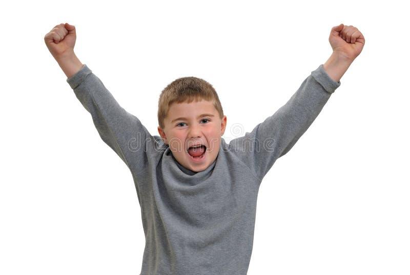 Het schreeuwen van het kind royalty-vrije stock fotografie