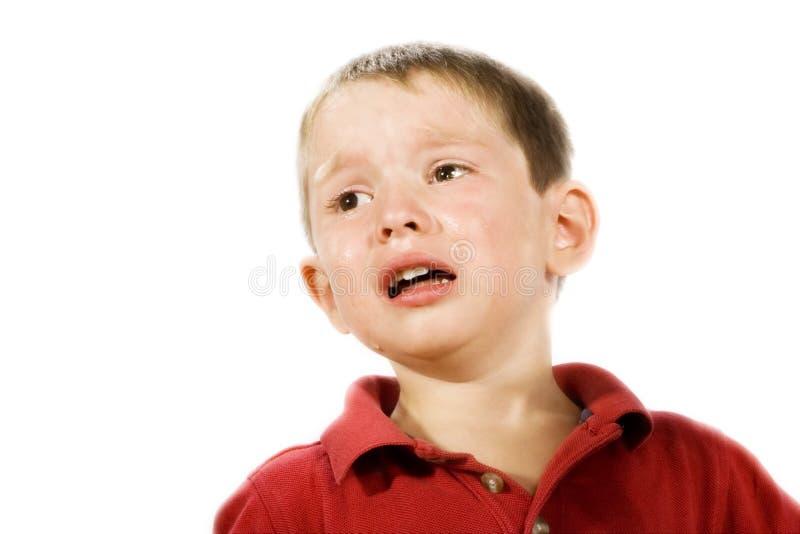 Het Schreeuwen van het kind stock fotografie