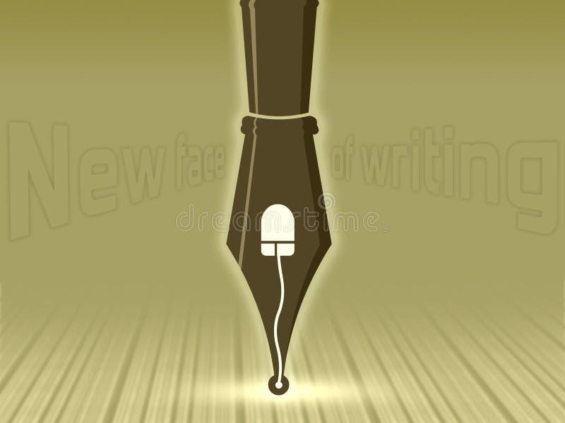 Het schrijven vector illustratie