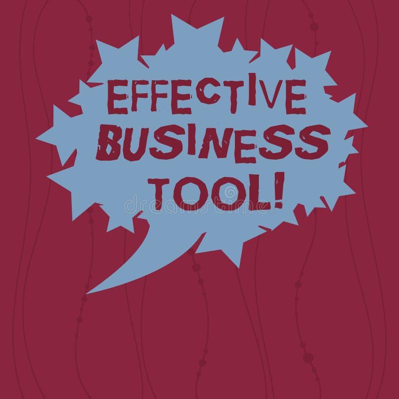 Het schrijven nota die Efficiënt Zakelijk hulpmiddel tonen Bedrijfsfoto demonstratie gebruikt om bedrijfsprocessen Leeg Ovaal te  vector illustratie