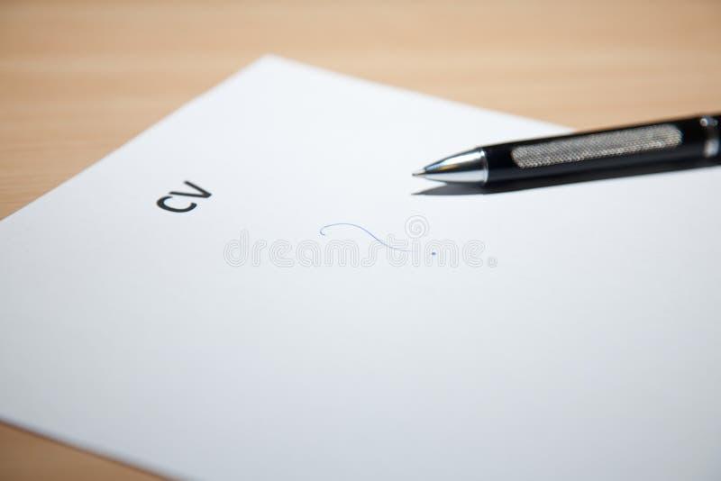 Het schrijven van cv