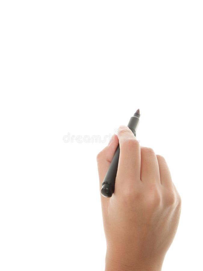 Het schrijven van de hand