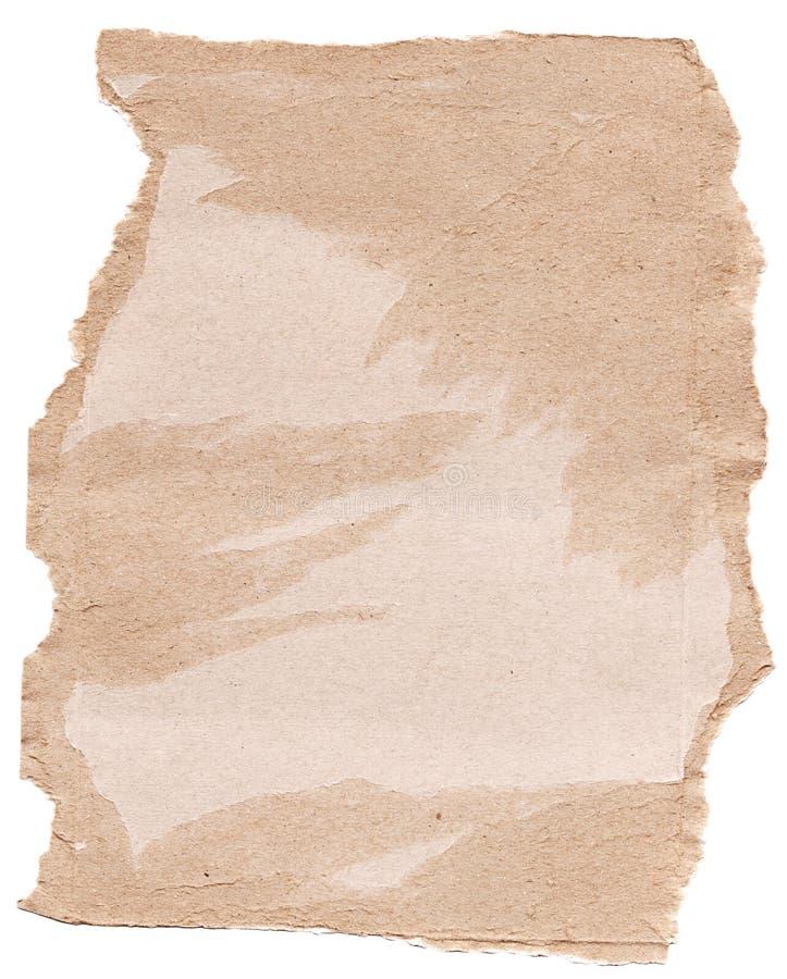 Het schroot van het karton stock afbeeldingen