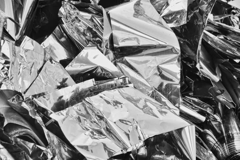 Het schroot van het metaal stock fotografie